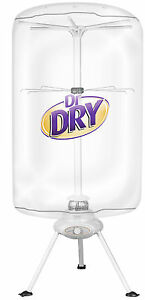 Dr Dry Portable Clothing Dryer 1000W Heater - Ventless , Electric