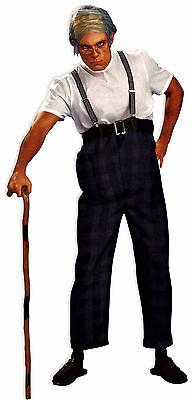 Mens Uncle Bert Funny Costume Old Man Costume Adult Size Standard - Uncle Bert Costume