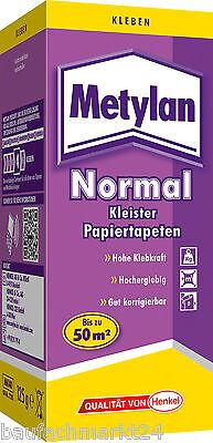 Metylan Normal 125 g Tapetenkleister für Papiertapeten Kleister