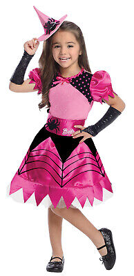 Toddler Witch Barbie Costume Dress Up Halloween Size 2T-4T