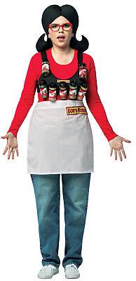 Spice Rack Halloween Costume (Bob's Burgers Linda Spice Rack Adult Women's Costume Halloween Fancy)