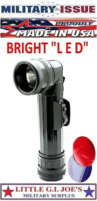 LED Flashlight Black Fulton Military Issue Angle Head Flashlight MX-991/USA 689 Angle Head Led Flashlight