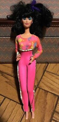 1986 Barbie And The Rockers Asian Dana Barbie Doll