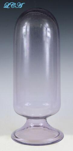 GIANT antique APOTHECARY blown glass SHOW - GLOBE or INVERTED specimen jar BIM