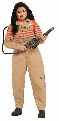 Ghostbusters Adult Womens Costume Plus Size Jumpsuit Halloween