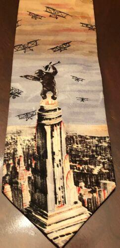 Silk American Film Classics King Kong Necktie