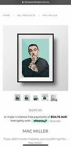 Mac Miller Artwork