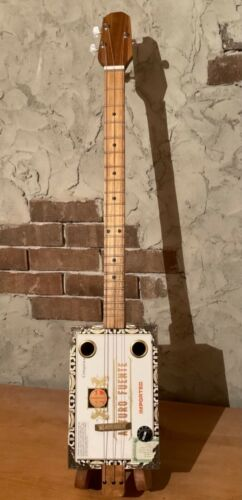 Cigar box guitar acoustic/electric 3 string