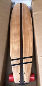 "Longboard 44""x11"" Custom Made with African Mahogany/7ft Paddle!"