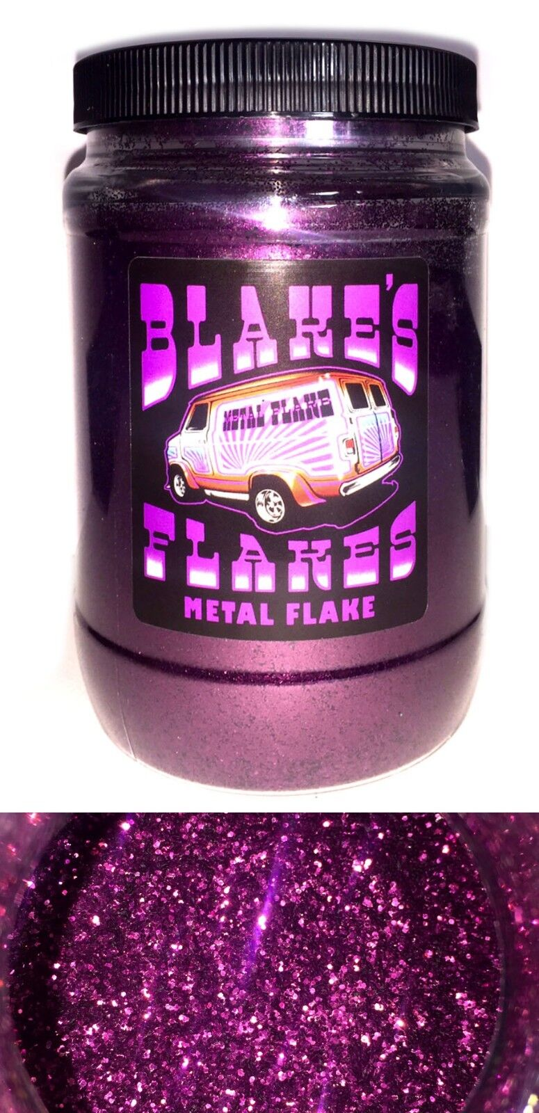 1lb Blakes Metal Flake Garnet Red Purple 015 Loose Hot