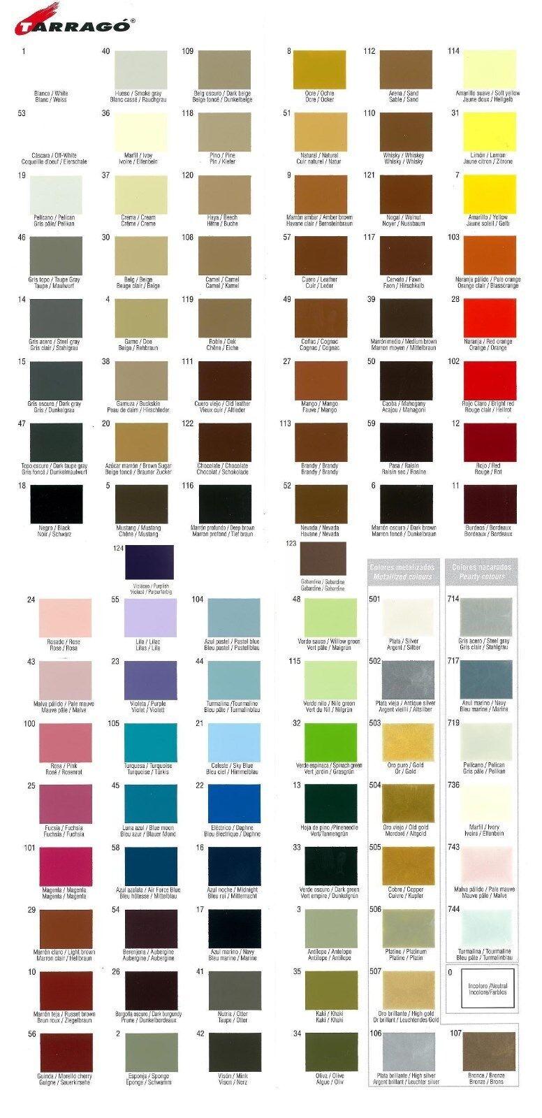 Tarrago Shoe Boot Cream Leather Polish Jar Cream 50ML (Many Colors) Clothing & Shoe Care
