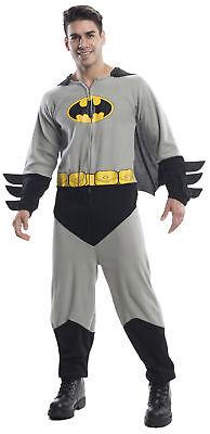 Batman Mens Adult Costume Halloween Jump suit Rubies](Halloween Batman Suit)