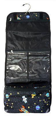 Galaxy Space Womens Large Hanging Toiletry Organizer Bag Travel Makeup Cosmetic](Galaxy Makeup Bag)
