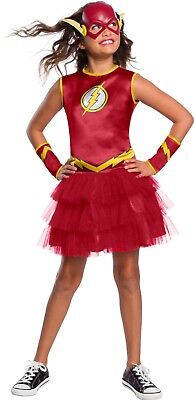DC Comics THE FLASH Tutu Dress Child Costume Large 10-12](The Flash Girl Costume)