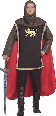 Medieval Knight Adult Mens Costume Prince Royalty Castle Chainmail - Chainmail Knight Costume
