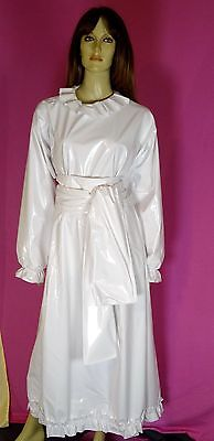 Sissikleid Babykleid Braut süß white PVC devot NEU PVC Diargh online kaufen