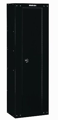 Ammo Cabinet - Black 8 Gun Security Cabinet Safe Storage Rifle Shotgun Steel Firearm Ammo Lock