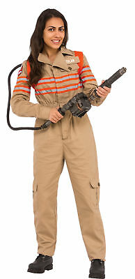Ghostbusters Costume Womens (Ghostbusters Movie Adult Womens Grand Heritage Costume Jumpsuit And)