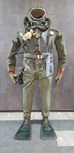 Drysuit  UGK of naval special forces of the USSR. Full-size dummy.USSR MARIТIME