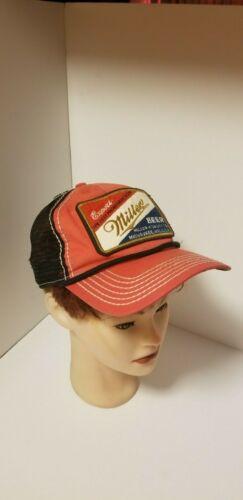 Miller High Life Beer Hat Vintage