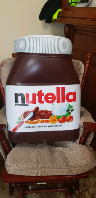 large nutella jar blow up other baby children gumtree