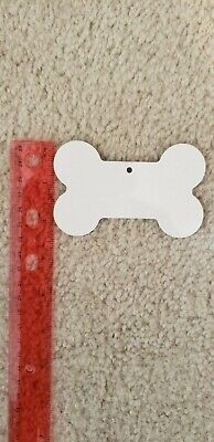 Dog Bone For Sublimation - All Hard Substrate Blanks - Lot Of 10