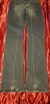 Genuine Vintage Versace Couture jeans Womens  28 size 10 straight