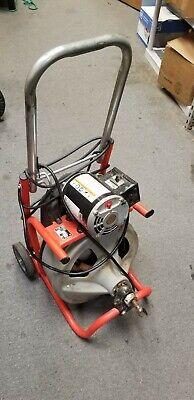 Ridgid K-400-t2 Drain Cleaning Drum Machine Autofeed 120v60hz