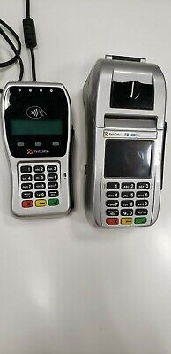 First Data Fd130 Duo Credit Card Terminal With Fd35 Pin Pad