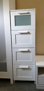 HOT ITEM 🔥! Ikea 4-Drawers Tall Chest /Cabinet - Move Out Sale!