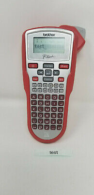 Brother Industries P-touch Red Label Maker Thermal Printer Model Pt-1010