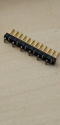 95pcs 2.54mm 1x12pin Smd Smt Male Single Row Pin Header