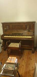 Free Piano and Piano Stool and Removalist