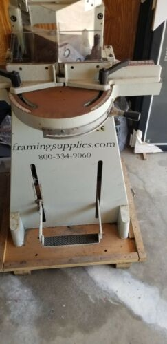 Mitre Guillotine Machine, Picture Frames Miter Cuts,  Extension Table