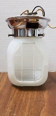 Vintage Mid-Century Art Deco Light fixture - plug socket- RETRO