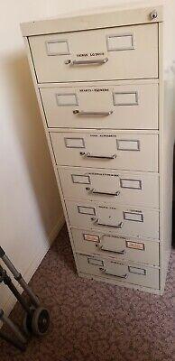 7 Drawer Metal Cabinet