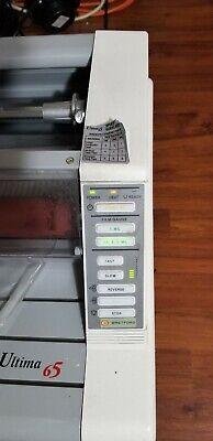 Gbc Heatseal Ultima 65 Roll Laminator 27 Laminating Machine