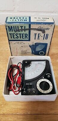 Vintage Lafayette Te-10 Multi-tester Percision Top Accuracy Sensitive Origina