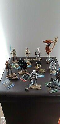 Diverse Hasbro Star Wars Figuren: Vader, Yoda, Cad Bane, Jar Jar Binks, R2D2..