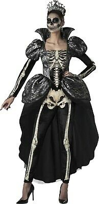 Adult Women Skeleton Costume (Adult Bone Skeleton Queen Costume)