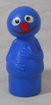 Vintage Fisher Price Sesame Street Little People Grover