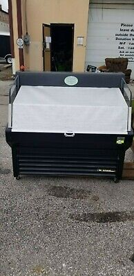 True Thac-48 Mobile Grab-n-go Refrigerated Merchandiser 3 Tier 115 Volts Tested