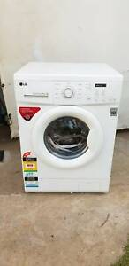 LG 7kgs Direct Drive Front Loader Washing Machine Fawkner Moreland Area Preview