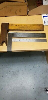 Starrett Hardened Steel Master Square No 20 12 Inch 12 Vg Accuracy Inspected