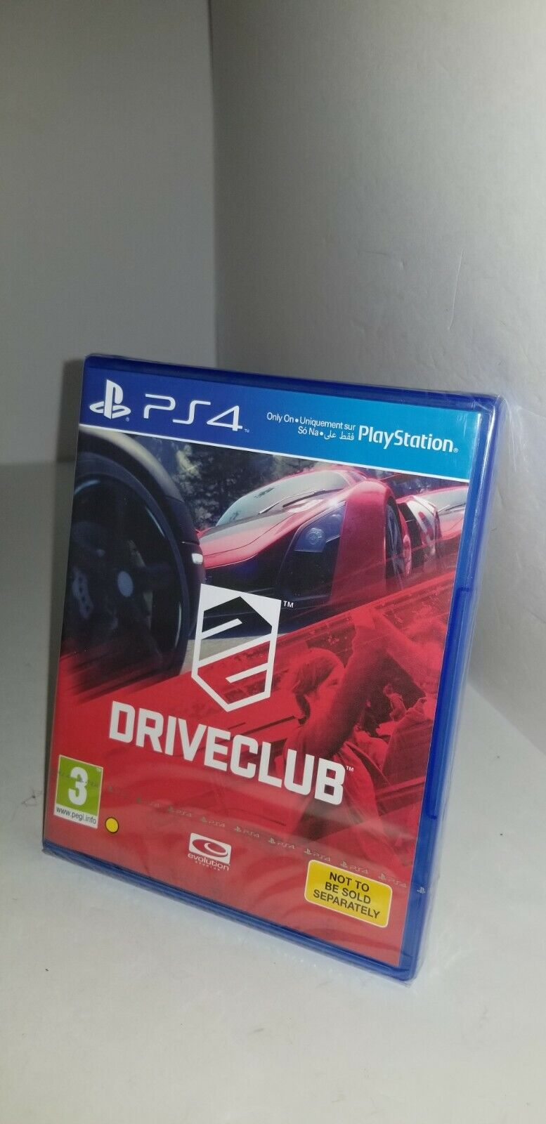 NEW DRIVE CLUB Game for PlayStation 4 PS4 REGION FREE UK FAC