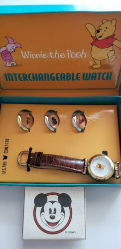 Vintage FOSSIL Winnie The Pooh Interchangeable Watch Exclusively Disney Company