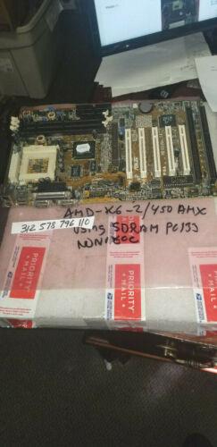 Asus P5A Rev. 1.04  Industrial PC board SOCKET 7