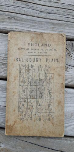 First War Map of Salisbury Plain