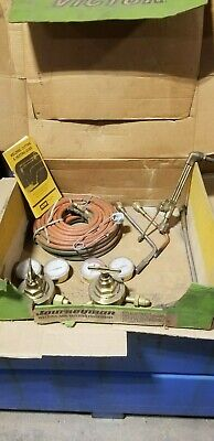 Victor Journeyman Heavy Duty Welding And Cutting Equipment Old School Set