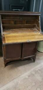 Antique Bureau Hutch and Desk St Clair Penrith Area Preview